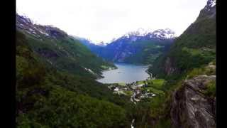 NORWAY FJORDS-SOLVEIG'S SONG BY GRIEG  HD