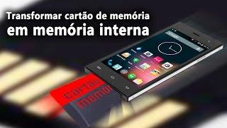 Como transformar cartão de memoria em memoria interna, baixe jogos e apps no cartão de memória.