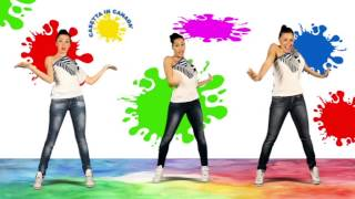 CASETTA IN CANADA' (Tutorial Dance) - Kids dance