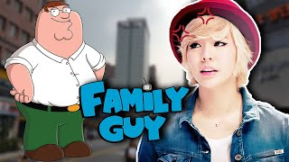 KOREANS REACT TO FAMILY GUY ON KOREA