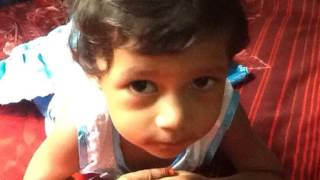 Ayesha Takia- Our little angel. Form age 0 to 1yr 9 mnth
