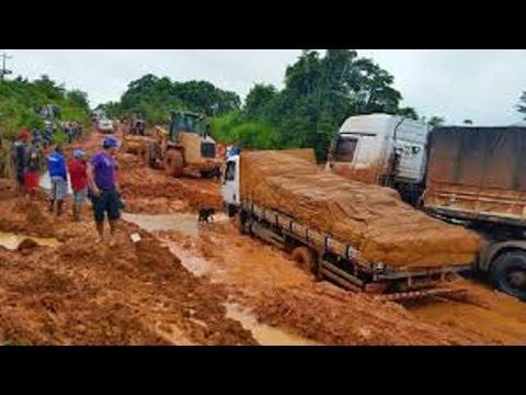 Rodovia trans Amazonia Brasil