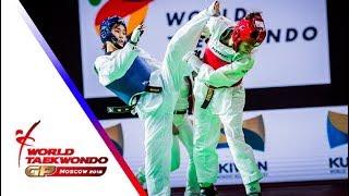 Moscow 2018 World Taekwondo GP-Final [female –49Kg] KIM, SO-HUI(KOR) vs TOMIC, KRISTINA(CRO)