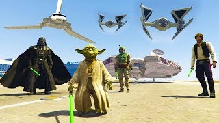 GTA 5 Star Wars ROGUE ONE BATTLE!!! GTA 5 Mod Gameplay