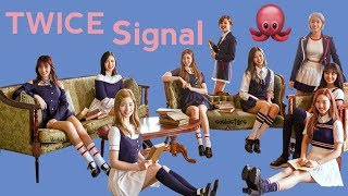 TWICE Signal Red & Pink Album Unboxing!