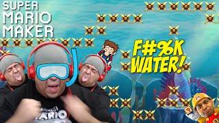 YO! F#%K!! WATER LEVELS!!! [SUPER MARIO MAKER] [#53]
