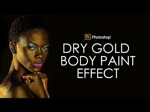 Xxx Mp4 Photoshop Tutorial Dry Gold Body Paint Effect Photo Manipulation 3gp Sex