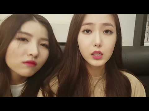 Gfriend BITING each other, Sinrin, Unnie line, Main line, Tom and Jerry, Tall line [ENG CC]