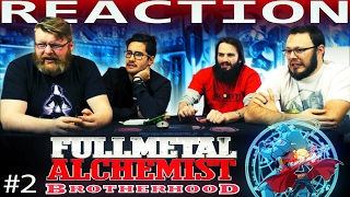 Fullmetal Alchemist: Brotherhood Episode 2 REACTION!!