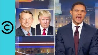 Trump Abandons Ed Gillespie   The Daily Show