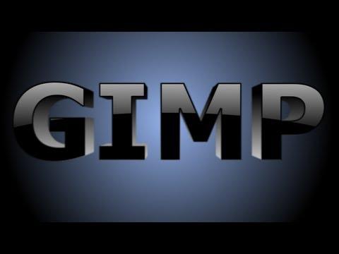 GIMP Text Effects 3D Text