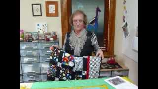 How to make a Fun Quilt using themed fabrics - Quilting Tips & Techniques 113