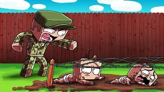 Minecraft | Baby Sitter - MILITARY DRILL SERGEANT BABY SITTER! (Strict or Mean?)