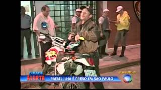Cidade Alerta 25 05 2015 Rafael Ilha Ex Polegar é Preso Novamente