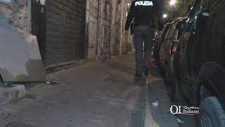 Bari, blitz della Polizia nel tugurio al 222 di via Manzoni: trovata la droga