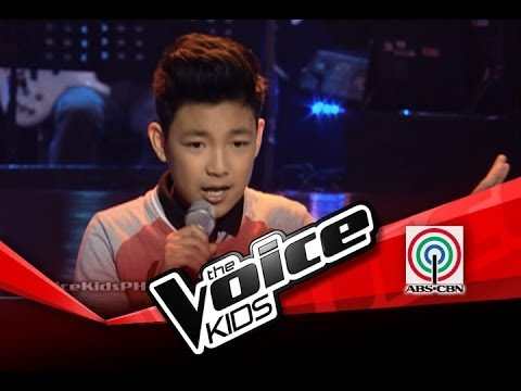 """The Voice Kids Philippines Blind Audition """"Domino"""" by Darren"""