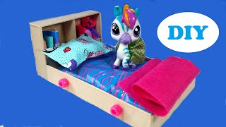 DIY Doll Water Bed for LPS & Mini Dolls