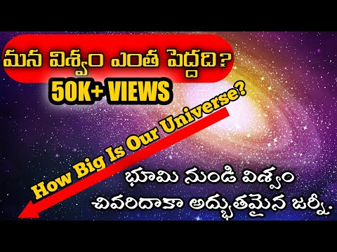 How Big Is The Our Universe In Telugu SKW Watch Must