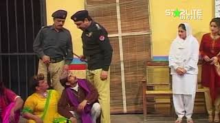 Sohail Ahmed and Amanat Chan New Pakistani Stage Drama  Kali Chader  Full Comedy Clip