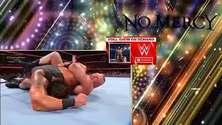 Brock Lesnar vs Braun Strowman Full Match   WWE No Mercy 2017 Universal Champion 24 September