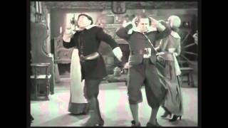 The Three Stooges dance to Wipe Out!