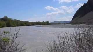 Armenian- Turkish border, Araxes river April 14 2015