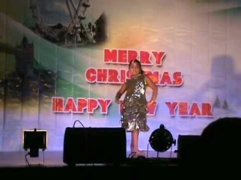 X'Mas New Year 2012/13 Anasooya Sathyan Dance