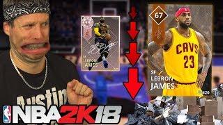 DOWNGRADED PLAYER CHALLENGE! NBA 2K18