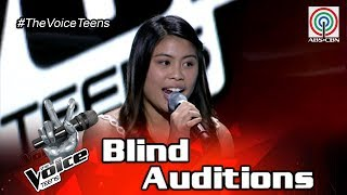 The Voice Teens Philippines Blind Audition: Sophia Dalisay - Roar
