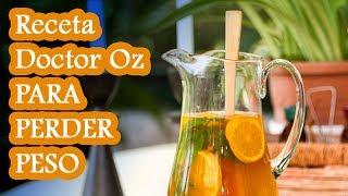 Perder Peso Receta del Doctor Oz de Té Verde y Mandarina