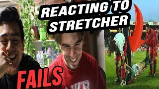 THE ULTIMATE STRETCHER FAILS COMPILATION REACTION!! 2017