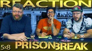 Prison Break 5x8 REACTION!!