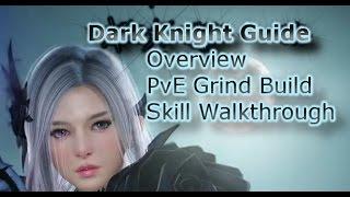 Dark Knight Skill Build, Leveling Guide & Class Review - Black Desert