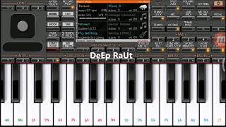 Sab tera | Baaghi | mobile piano tutorial on ORG