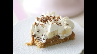 Banoffee Pie Recipe, how to make