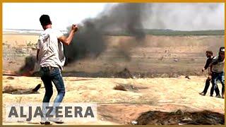 🇵🇸 Gaza protests: Palestinian killed on the border | Al Jazeera English