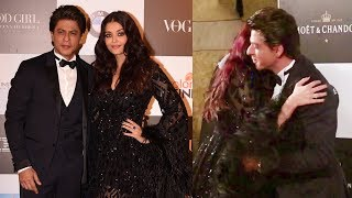 Shahrukh Khan With HOT Aishwarya Rai At Vogue Women of the Year Awards 2017