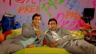 Hrithik and Abhishek - Prem and Prem in MPKDH