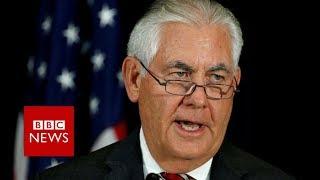 Tillerson: North Korean leader didn