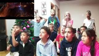 Infinity War Trailer Reaction from Happy Karate Kids