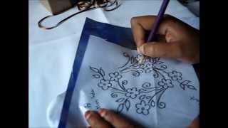 Transforming Design on Fabric (Carbon Paper)
