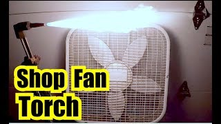 SHOP FAN SOUND + TORCH SOUND = 10 HOURS of FAN NOISE FOR SLEEP VIDEO for INSOMNIA