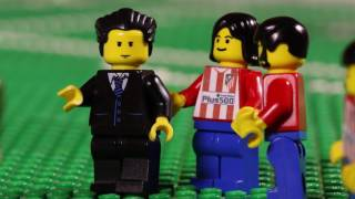 Champions League Final 2016: Real Madrid vs. Atletico Madrid Highlights in LEGO - Bricksports.de