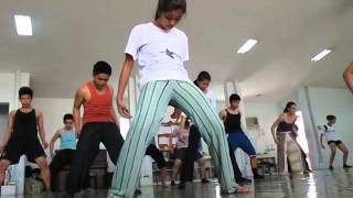 Macho Dance Class Eisa Jocson Philippines Feb 2014