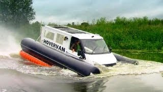 HoverVan Havoc | Top Gear | Series 20 | BBC