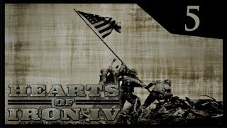 Hearts of Iron IV Waking the Tiger - Interventionist USA #5