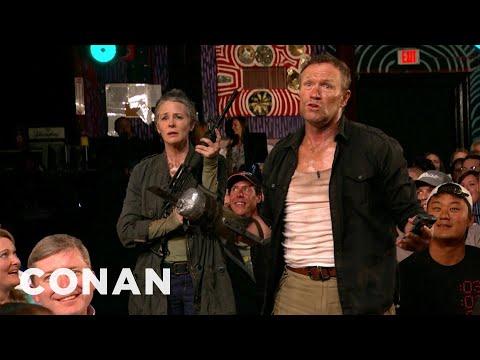 The Walking Dead Invades CONAN Atlanta CONAN on TBS