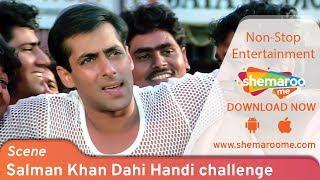 Salman Khan Dahi Handi challenge by Rani Mukerji - Hello Brother - Janamashtmi Special