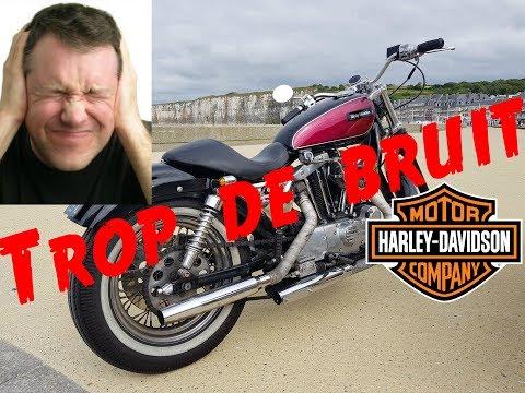 Pourquoi les Harley Davidson sont elles si bruyantes