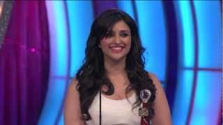 Parineeti Chopra wins Favorite Debut Actor (Male/Female) at People's Choice Awards 2012 [HD]